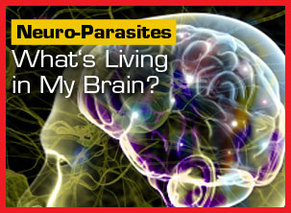 how to tell if you have parasites in your brain